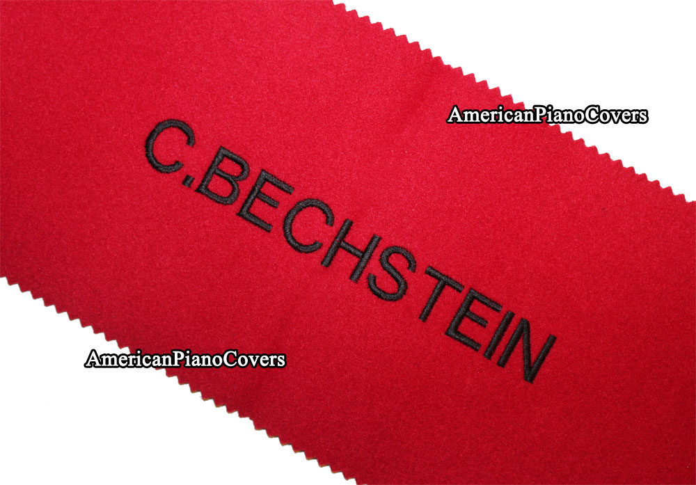 Bechstein red keyboard Cover