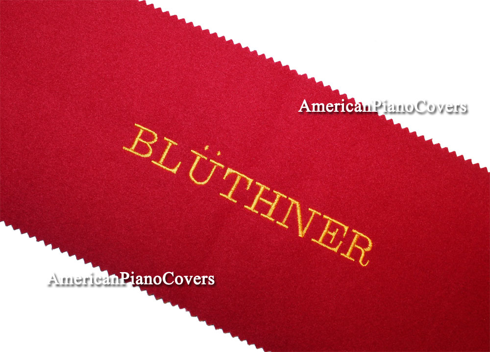 Bluthner felt piano key cover