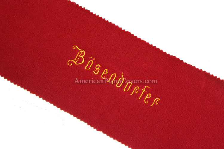 Bosendorfer felt piano key cover