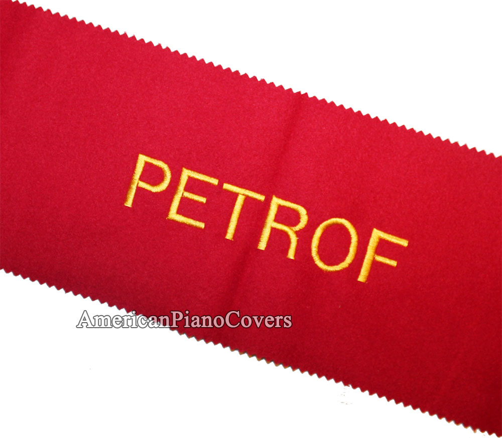 Petrof felt piano key cover